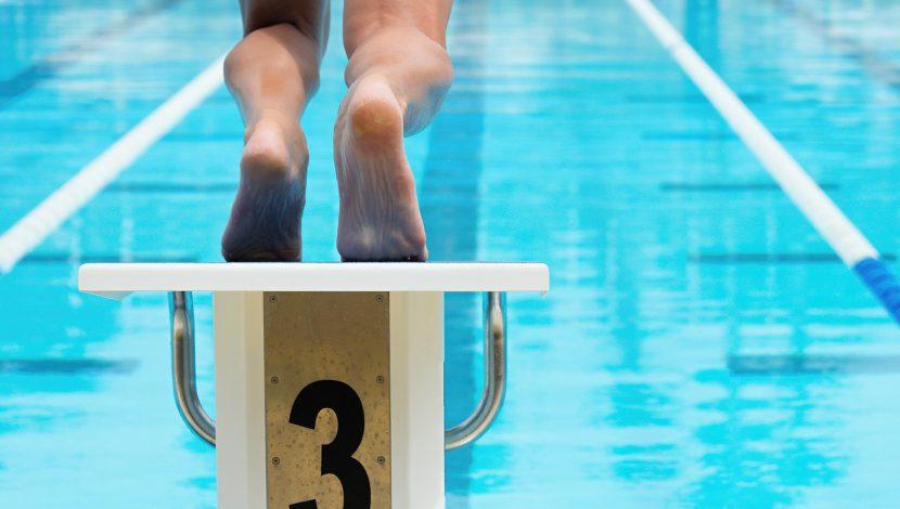 Man at pool is at risk for plantar warts